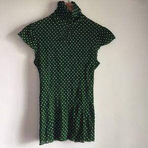 Zara mesh top